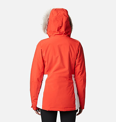 Women's Ava Alpine™ Insulated Jacket Ava Alpine™ Insulated Jacket | 430 | S, Bold Orange, White, back