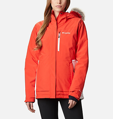 Women's Ava Alpine™ Insulated Jacket Ava Alpine™ Insulated Jacket | 430 | S, Bold Orange, White, front