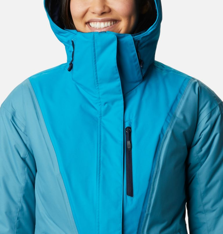 Last Tracks™ Insulated Jacket | 462 | XS Women's Last Tracks™ Insulated Ski Jacket, Fjord Blue, Canyon Blue, a2