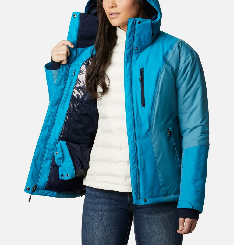Last Tracks™ Insulated Jacket | 462 | XS Women's Last Tracks™ Insulated Ski Jacket, Fjord Blue, Canyon Blue, a3