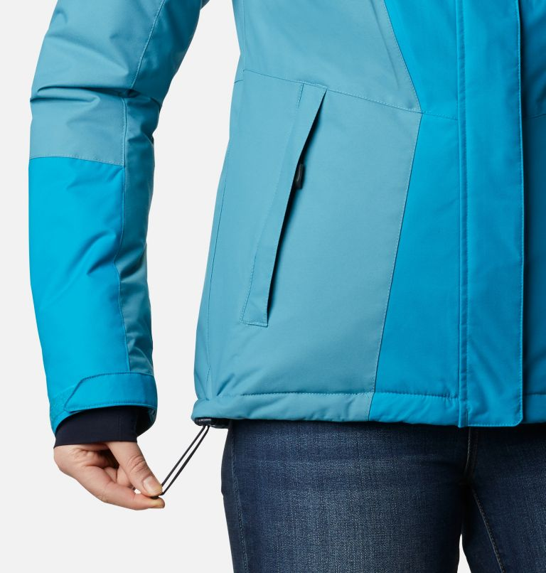 Last Tracks™ Insulated Jacket | 462 | XS Women's Last Tracks™ Insulated Ski Jacket, Fjord Blue, Canyon Blue, a4