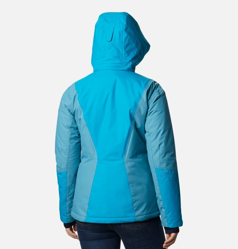 Last Tracks™ Insulated Jacket | 462 | XS Women's Last Tracks™ Insulated Ski Jacket, Fjord Blue, Canyon Blue, back