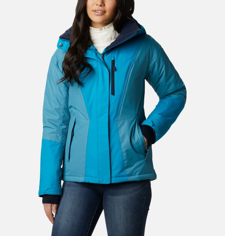 Last Tracks™ Insulated Jacket | 462 | XS Women's Last Tracks™ Insulated Ski Jacket, Fjord Blue, Canyon Blue, front