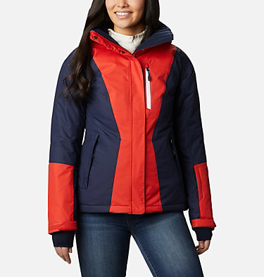 Women's Last Tracks™ Insulated Jacket Last Tracks™ Insulated Jacket | 462 | XXL, Bold Orange, Dark Nocturnal, front