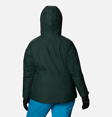 Women's Last Tracks™ Insulated Jacket - Plus Size Last Tracks™ Insulated Jacket | 671 | 3X, Spruce, back