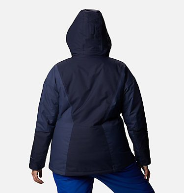 Women's Last Tracks™ Insulated Jacket - Plus Size Last Tracks™ Insulated Jacket | 671 | 3X, Dark Nocturnal, Nocturnal, back