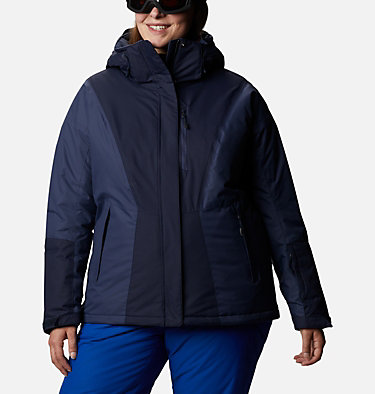 Women's Last Tracks™ Insulated Jacket - Plus Size Last Tracks™ Insulated Jacket | 671 | 3X, Dark Nocturnal, Nocturnal, front