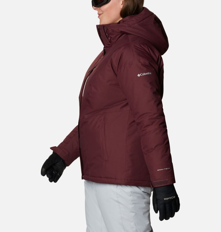 Last Tracks™ Insulated Jacket | 671 | 3X Women's Last Tracks™ Insulated Jacket - Plus Size, Malbec, a1