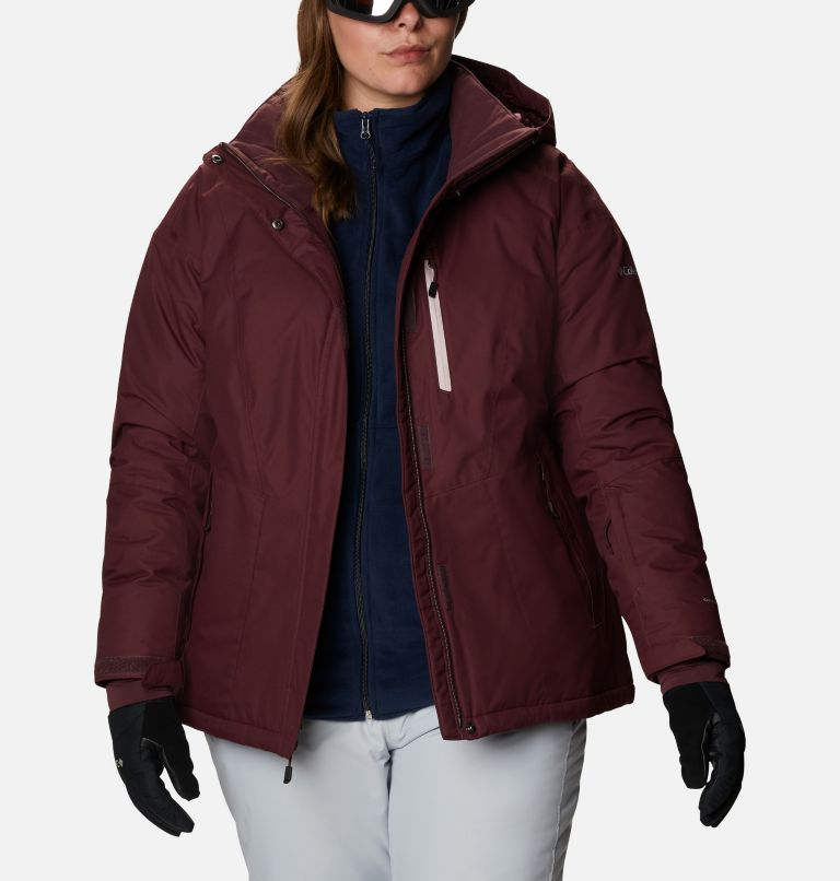 Last Tracks™ Insulated Jacket | 671 | 3X Women's Last Tracks™ Insulated Jacket - Plus Size, Malbec, a3