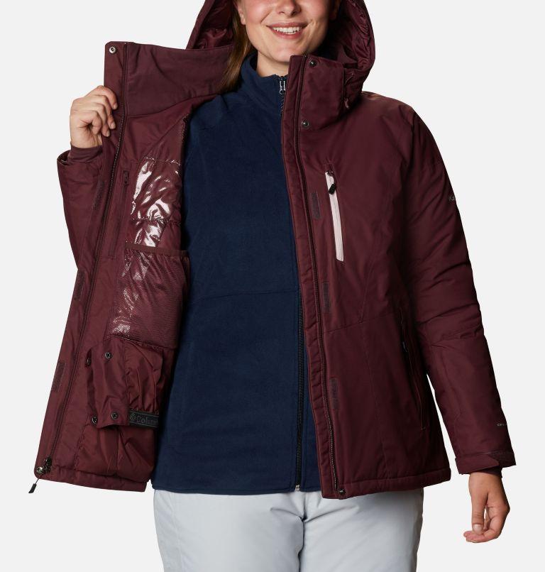 Last Tracks™ Insulated Jacket | 671 | 3X Women's Last Tracks™ Insulated Jacket - Plus Size, Malbec, a4