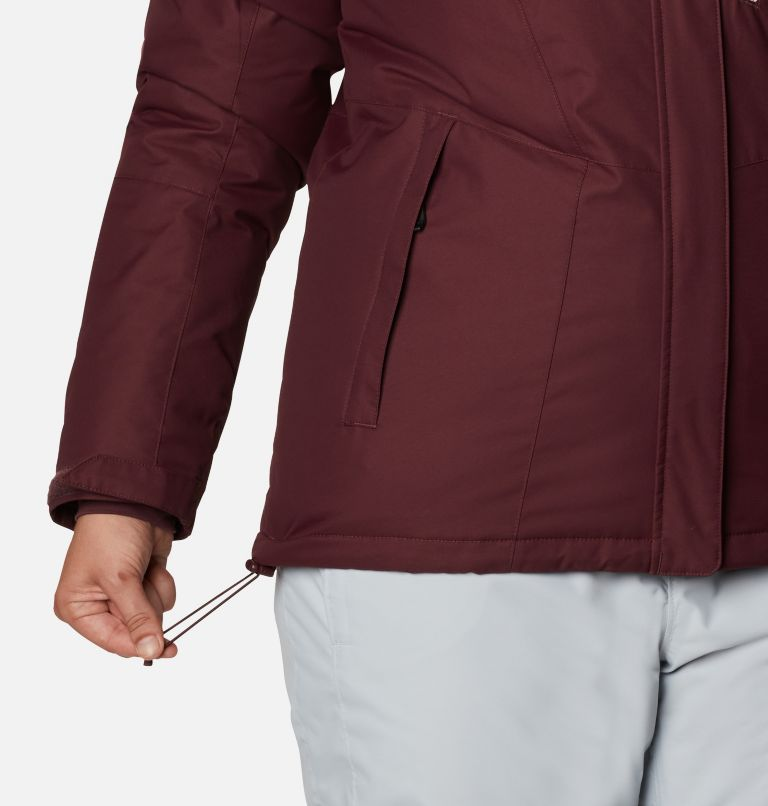 Last Tracks™ Insulated Jacket | 671 | 3X Women's Last Tracks™ Insulated Jacket - Plus Size, Malbec, a8