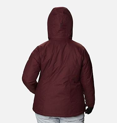 Women's Last Tracks™ Insulated Jacket - Plus Size Last Tracks™ Insulated Jacket | 671 | 3X, Malbec, back