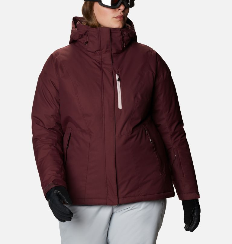Last Tracks™ Insulated Jacket | 671 | 3X Women's Last Tracks™ Insulated Jacket - Plus Size, Malbec, front