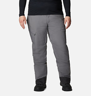Men's Powder Stash™ Pants - Big Powder Stash™ Pant | 386 | 1X, City Grey, front