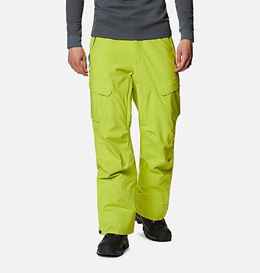 Men's Powder Stash™ Pants - Big Powder Stash™ Pant | 386 | 1X, Bright Chartreuse, front