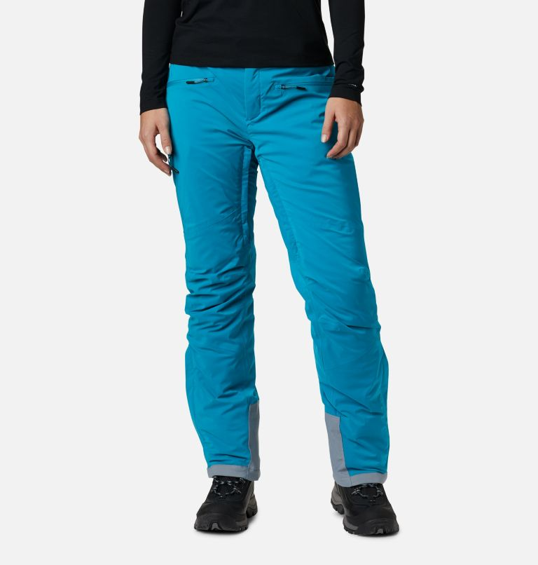 Wild Card™ Insulated Pant | 462 | XL Women's Wild Card Insulated Ski Pant, Fjord Blue, front