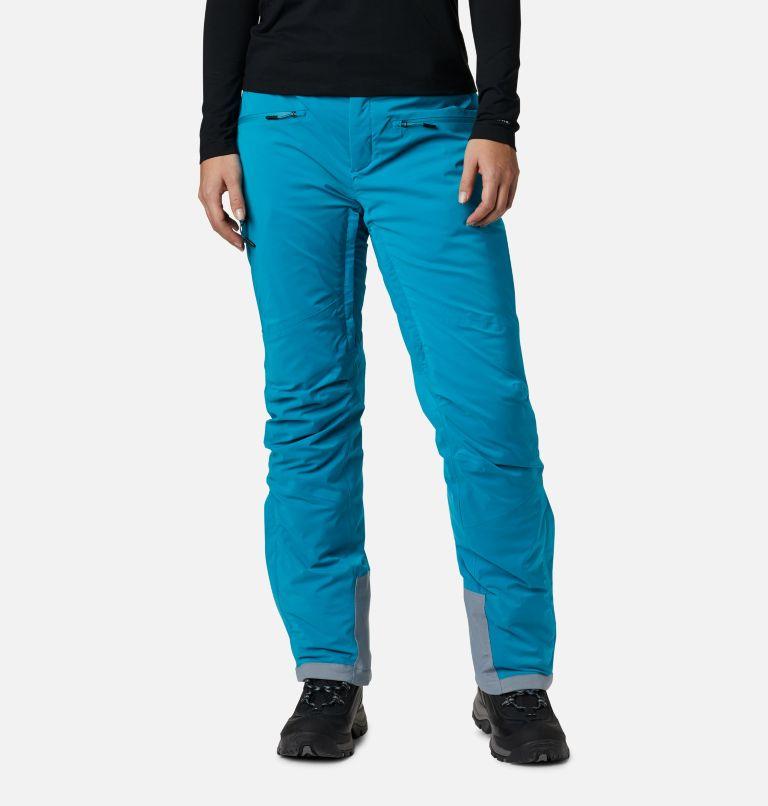 Wild Card™ Insulated Pant | 462 | XL Pantalón de esquí con aislamiento Wild Card para mujer, Fjord Blue, front