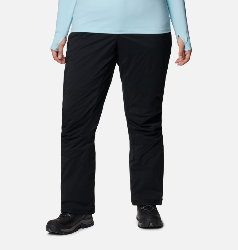 Backslope™ Insulated Pant | 010 | 3X Women's Backslope™ Insulated Pants - Plus Size, Black, front