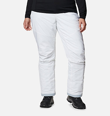 Women's Backslope™ Insulated Pants - Plus Size Backslope™ Insulated Pant | 100 | 3X, White, front