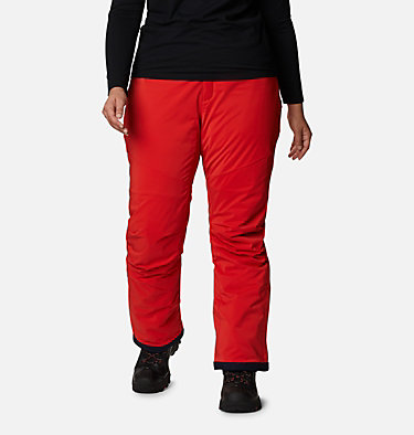 Women's Backslope™ Insulated Pants - Plus Size Backslope™ Insulated Pant | 100 | 3X, Bold Orange, front