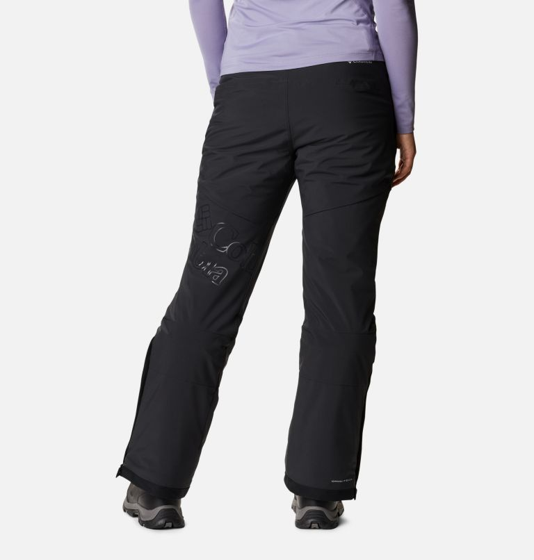 Kick Turner™ Insulated Pant | 010 | XS Women's Kick Turner Insulated Ski Pant, Black, back