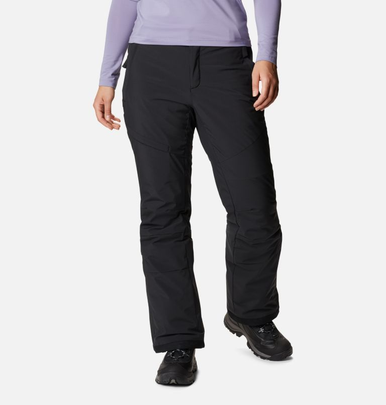 Kick Turner™ Insulated Pant | 010 | XS Women's Kick Turner Insulated Ski Pant, Black, front