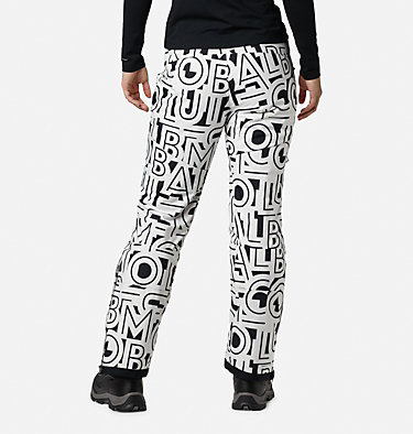 Women's Kick Turner™ Insulated Pants Kick Turner™ Insulated Pant | 472 | M, White Typo Print, back