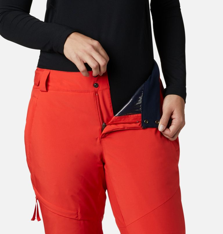 Kick Turner™ Insulated Pant | 843 | M Women's Kick Turner Insulated Ski Pant, Bold Orange, a3