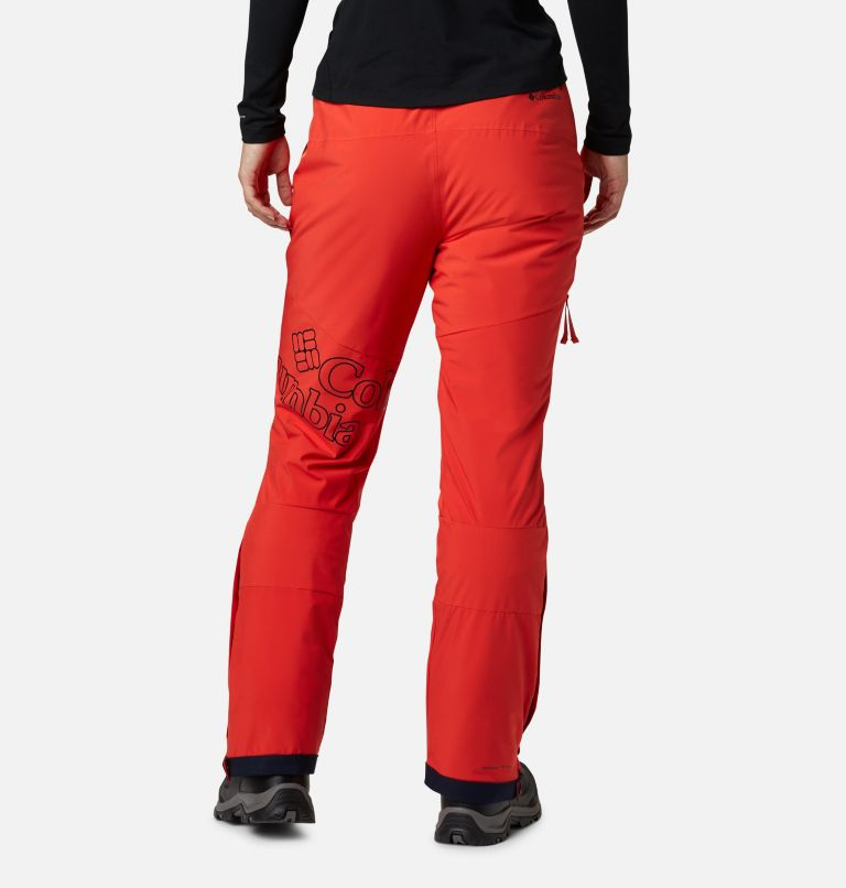 Kick Turner™ Insulated Pant | 843 | M Women's Kick Turner Insulated Ski Pant, Bold Orange, back
