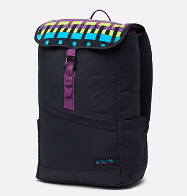 Unisex Falmouth™ 21L Backpack Falmouth™ 21L Backpack | 011 | O/S, Black, Black Print, front