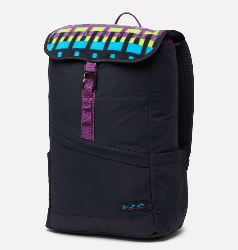 Falmouth™ 21L Backpack | 010 | O/S Unisex Falmouth™ 21L Backpack, Black, Black Print, front