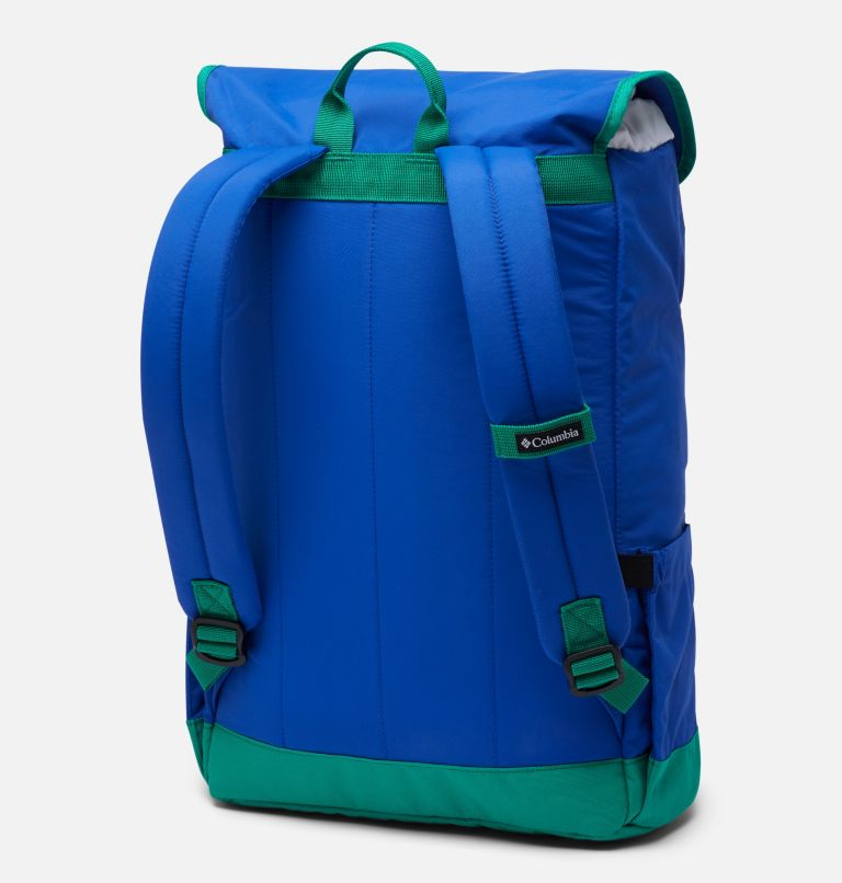 Falmouth™ 21L Backpack | 410 | O/S Falmouth™ 21L Backpack, Lapis Blue, Emerald Green, back