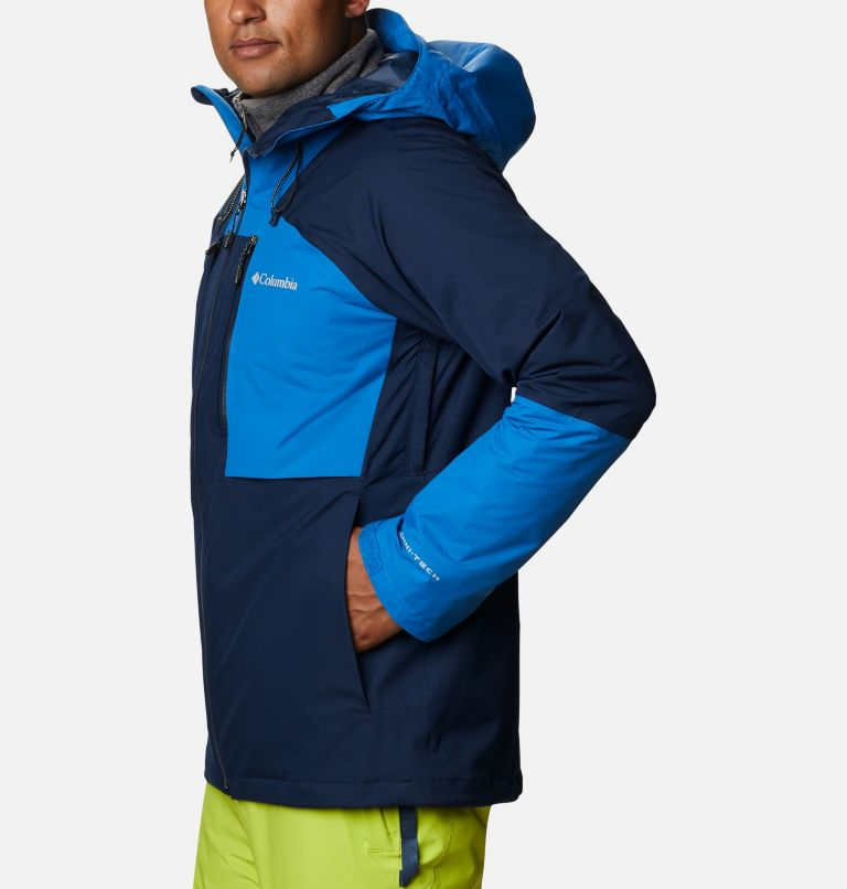 Banked Run™ Jacket | 464 | XXL Men's Banked Run™ Jacket, Collegiate Navy, Bright Indigo, a1