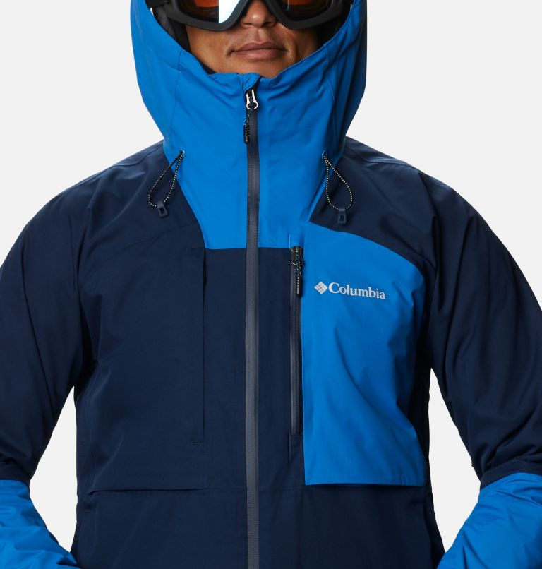 Banked Run™ Jacket | 464 | L Men's Banked Run™ Jacket, Collegiate Navy, Bright Indigo, a2