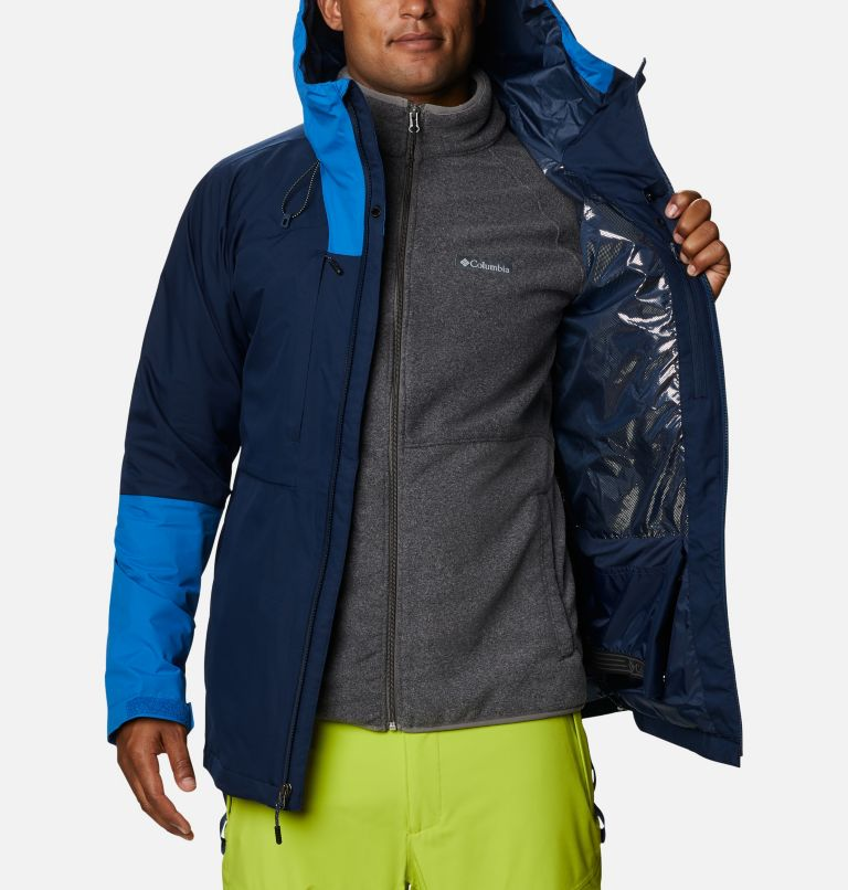 Banked Run™ Jacket | 464 | L Men's Banked Run™ Jacket, Collegiate Navy, Bright Indigo, a4