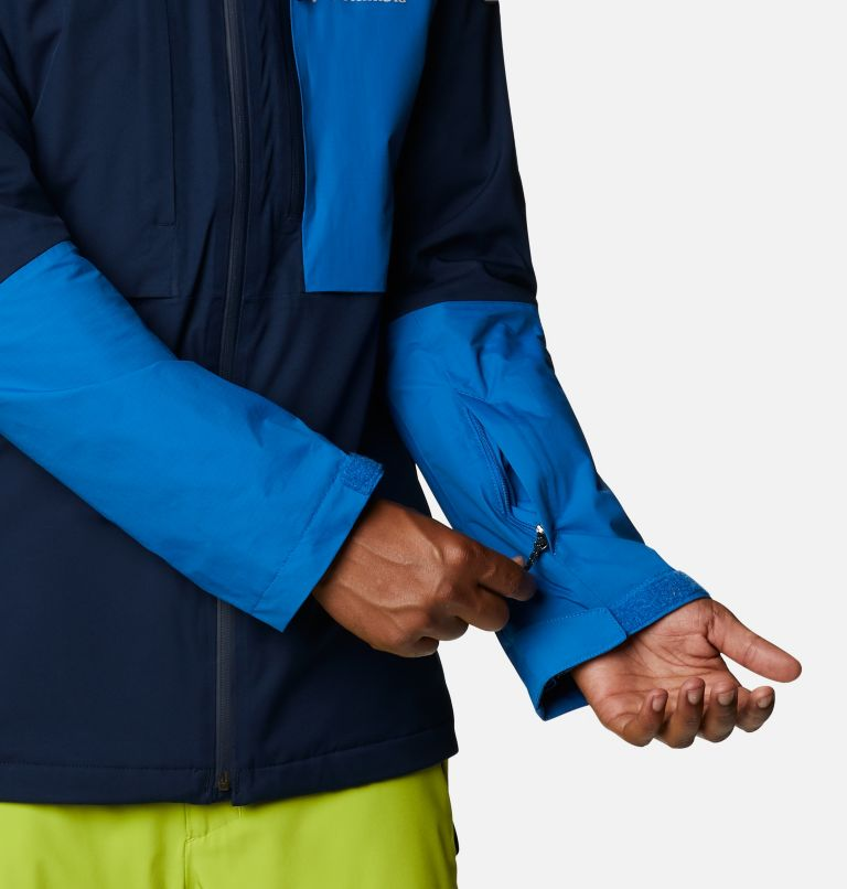 Banked Run™ Jacket | 464 | L Men's Banked Run™ Jacket, Collegiate Navy, Bright Indigo, a7