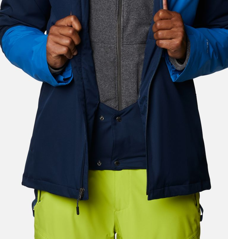 Banked Run™ Jacket | 464 | XXL Men's Banked Run™ Jacket, Collegiate Navy, Bright Indigo, a8