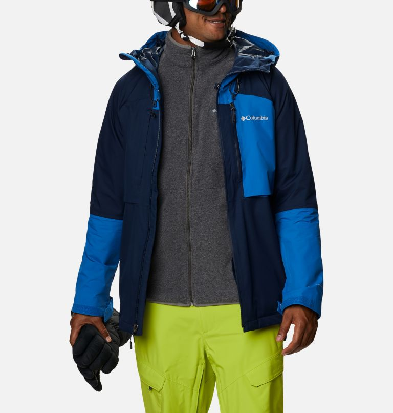 Banked Run™ Jacket | 464 | L Men's Banked Run™ Jacket, Collegiate Navy, Bright Indigo, a9