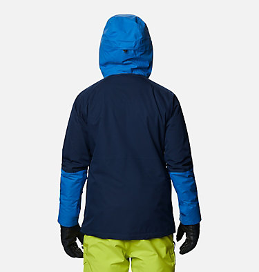 Men's Banked Run™ Jacket Banked Run™ Jacket | 010 | S, Collegiate Navy, Bright Indigo, back