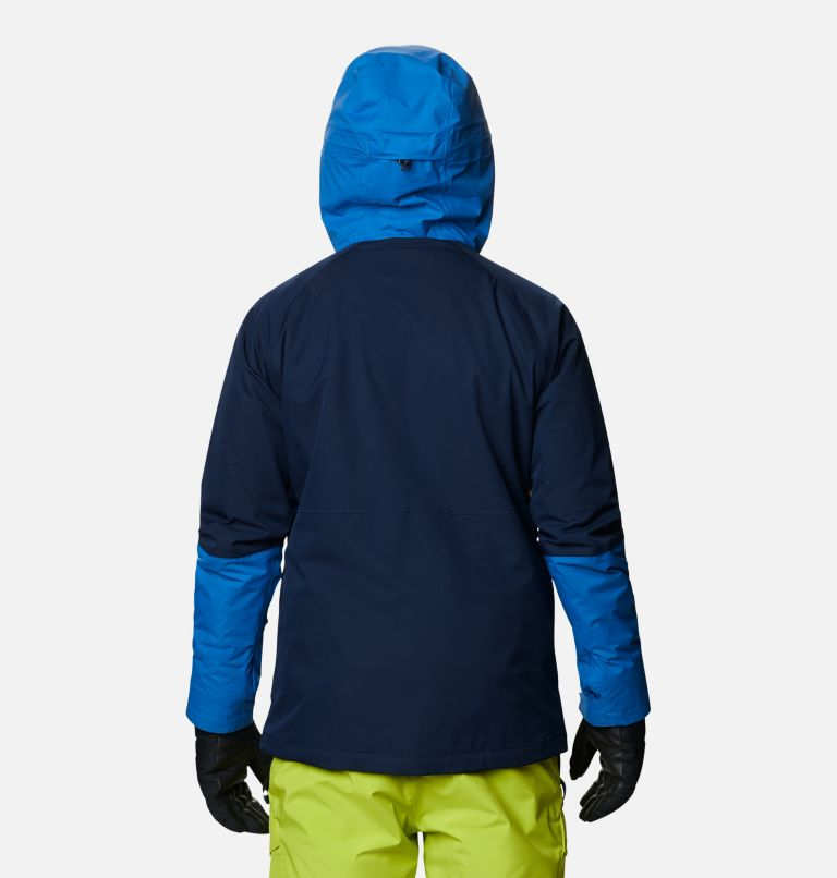 Banked Run™ Jacket | 464 | L Men's Banked Run™ Jacket, Collegiate Navy, Bright Indigo, back