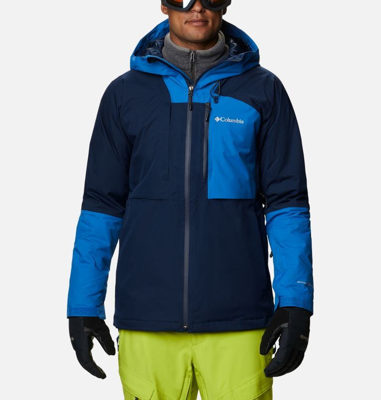 Banked Run™ Jacket | 464 | L Men's Banked Run™ Jacket, Collegiate Navy, Bright Indigo, front