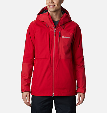 Men's Banked Run™ Jacket Banked Run™ Jacket | 010 | S, Mountain Red, front