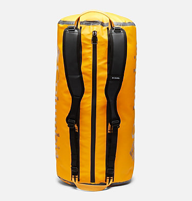 OutDry Ex 80L Duffel Bag OutDry Ex™ 80L Duffle | 010 | O/S, Bright Marigold, Black, back
