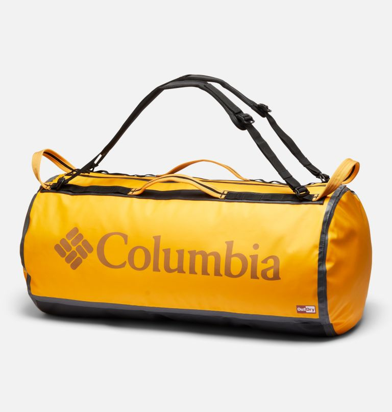 OutDry Ex™ 80L Duffle | 772 | O/S OutDry Ex™ 80L Duffel, Bright Marigold, Black, front