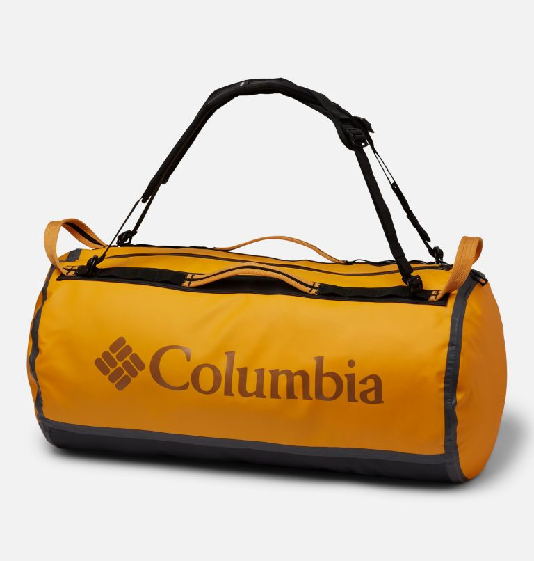 OutDry Ex™ 60L Duffle | 772 | O/S OutDry Ex™ 60L Duffel, Bright Marigold, Black, front