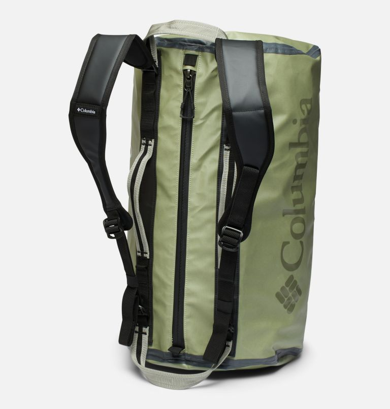 OutDry Ex™ 40L Duffle   348   O/S Unisex OutDry Ex 40L Duffel Bag, Safari, Black, back
