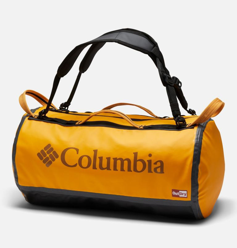OutDry Ex™ 40L Duffle | 772 | O/S Unisex OutDry Ex 40L Duffel Bag, Bright Marigold, Black, front