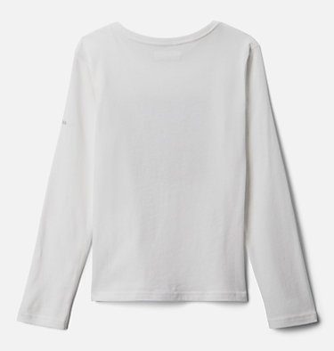 Girls' Primrose Hill™ Long Sleeve Graphic Tee Primrose Hill™ Graphic LS Tee | 462 | XL, White, back