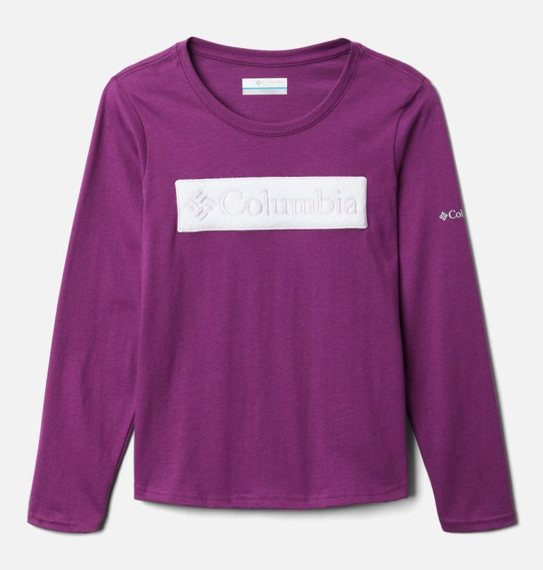 Girls' Primrose Hill™ Long Sleeve Graphic Tee Girls' Primrose Hill™ Long Sleeve Graphic Tee, front