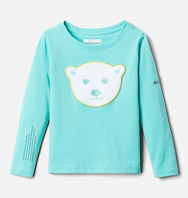 Girls' Toddler Primrose Hill™ Long Sleeve Graphic T-Shirt Primrose Hill™ Graphic LS Tee | 039 | 3T, Dolphin, front